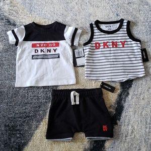 DKNY 3 piece set NWT